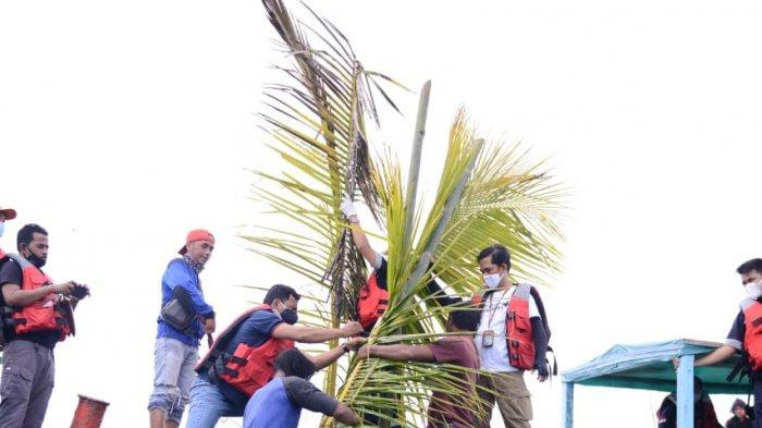Tingkatkan Hasil Tangkapan, PT Timah dan Nelayan Tanjung Gunung Tenggelamkan 55 Unit Rumpon