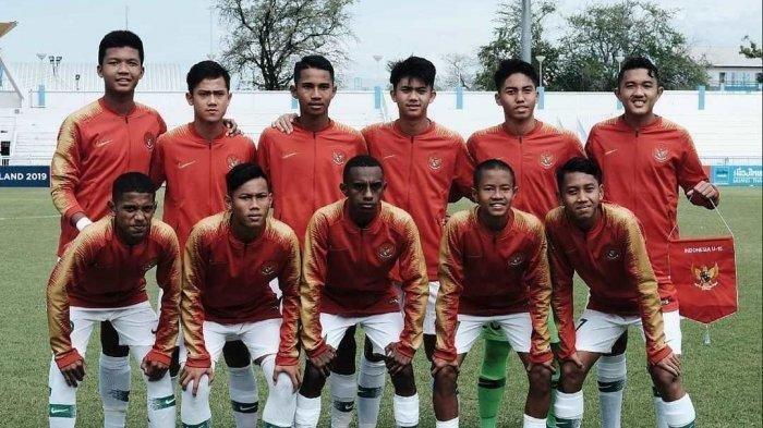 Jadwal Lengkap Timnas U-16 Indonesia di Kualifikasi Piala Asia U-16 2020