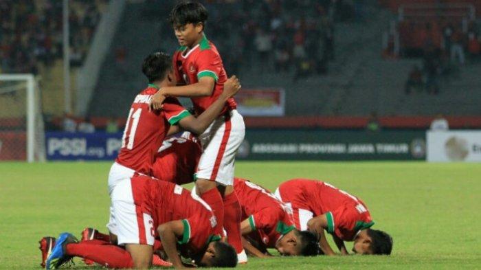 Piala Asia U-16 - Timnas U-16 Indonesia Pasang Trisula Hadapi Australia