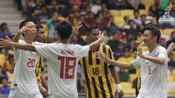 Piala Asia U-16 - Timnas U-16 Malaysia dan Thailand Tersingkir