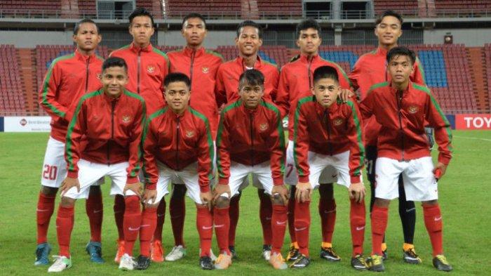 Timnas U-16 Indonesia Paling Digdaya