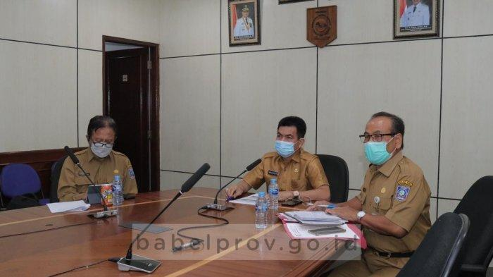 Bersama Pemerintah Pusat, Pemprov Bangka Belitung Bahas Realisasi Insentif Bagi Tenaga Kesehatan