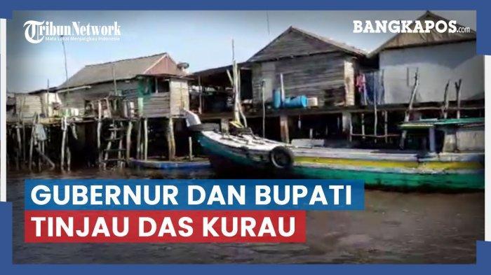 Erzaldi Susuri Alur DAS Kurau, Rencana Pengendalian Banjir dan Relokasi Rumah Warga