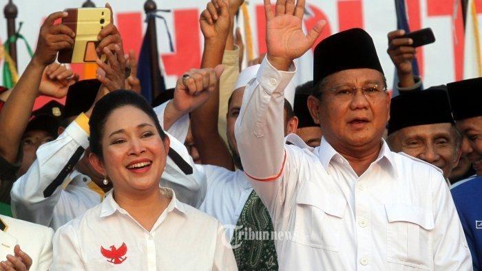 Reaksi Titiek Soeharto Saat Prabowo Dibully Karena Masuk Dalam Koalisi Jokowi