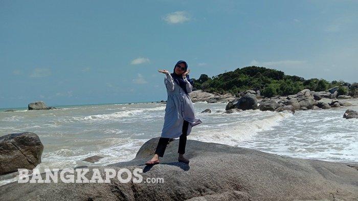 Pantai Tanjung Berikat, Destinasi Wisata Tersembunyi Di Timur Pulau Bangka