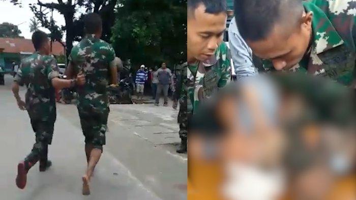 Viral Tiga Prajurit TNI AD Cuci Uang Jutaan Rupiah, Dari Lokasi Banjir Sentani Jayapura