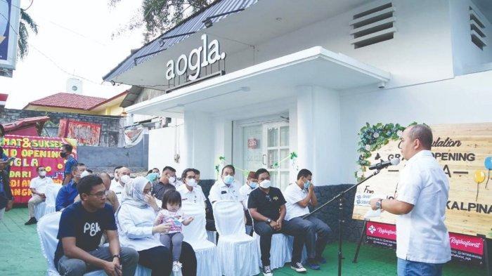 Grand Opening Aogla Store, Jadi Inkubator Bagi UMKM di Kota Pangkalpinang