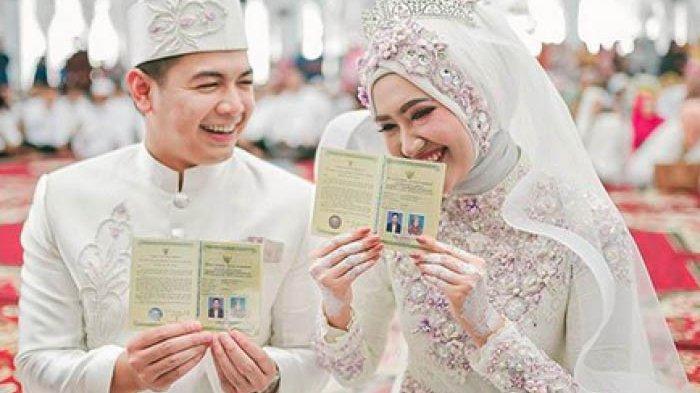 Tommy Kurniawan menikah dengan pramugari cantik, Lisya Nurrahmi.