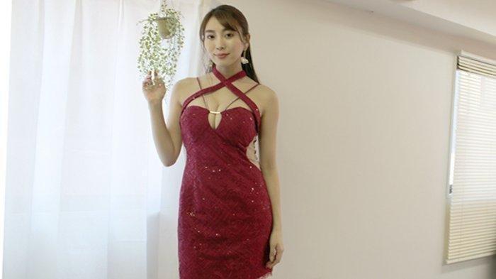 Tomomi Morisaki (28) idola Jepang yang lagi naik daun saat ini dengan badan seksinya (Richard Susilo)