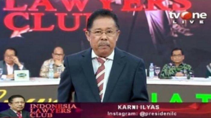 Bahas Covid-19 di ILC TV One, Karni Ilyas Dicecar Netizen Dituding Alihkan Isu, Ini Kata Mereka