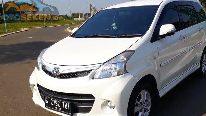 Harga Toyota Avanza Seken, Mulai dari Rp 100 Juta hingga Rp 180 Juta