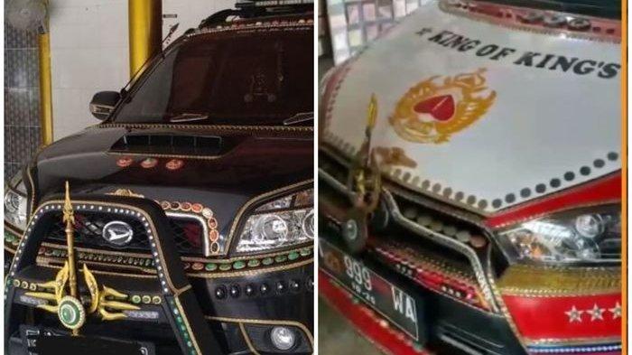 Ini Baru Sultan Asli, Mobilnya Biasa Aksesoris Emas dan Berlian, Lantai Rumah Ditanami Emas Batangan