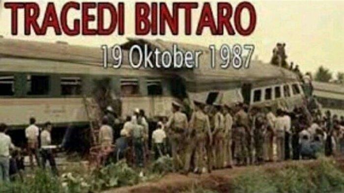 Mengenang Tragedi Bintaro 1987, Tabrakan Maut Kereta Api, Ratusan Orang Tewas, Masinisnya Difitnah
