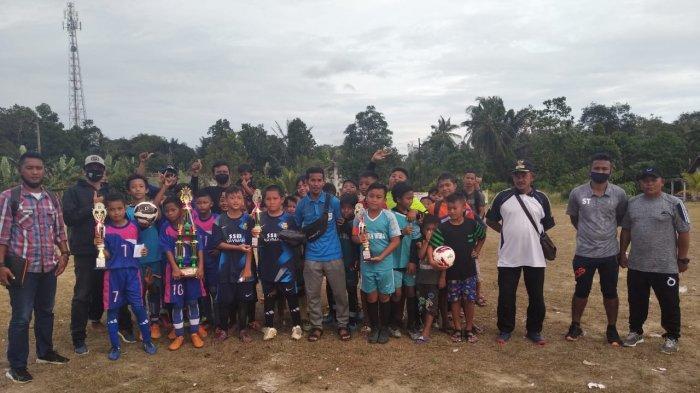 Ajang Silahturahmi, SSB YOYO Desa Cit U 12 Gelar Laga Trofeo Antar SSB