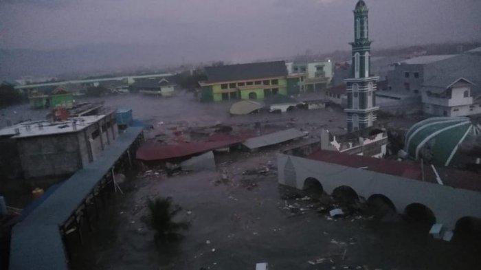 KRI Spica-934 Temukan Longsoran Dasar Laut Teluk Palu yang Diduga Asal Kekuatan Tsunami