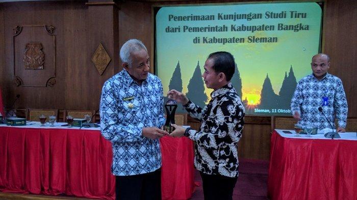 Bupati Bangka Minta OPD Komitmen Tiru Kabupaten Sleman Raih WTP Delapan Kali Berturut-Turut