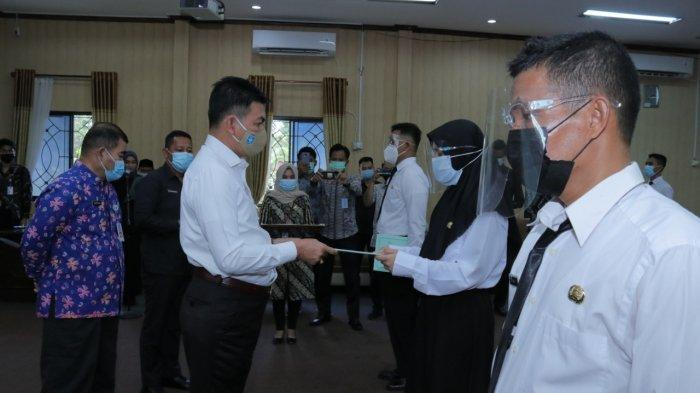 Sekda Bangka Belitung Ingatkan Para CPNS Jaga Integritas dan Disiplin, Jangan Sombong menjadi ASN