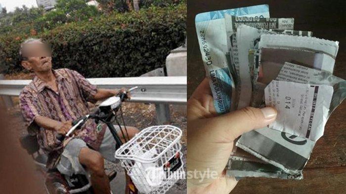 Kasihan, Ambil Duit dari Bank, Kakek Ini Kaget Lihat Uangnya Jadi Begini