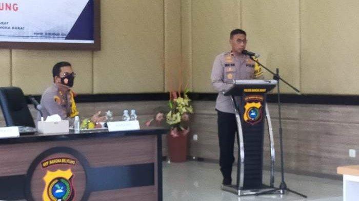 Wakapolda Bangka Belitung Cek Kesiapan Pengamanan Pilkada, Personel Diminta Jaga Netralitas
