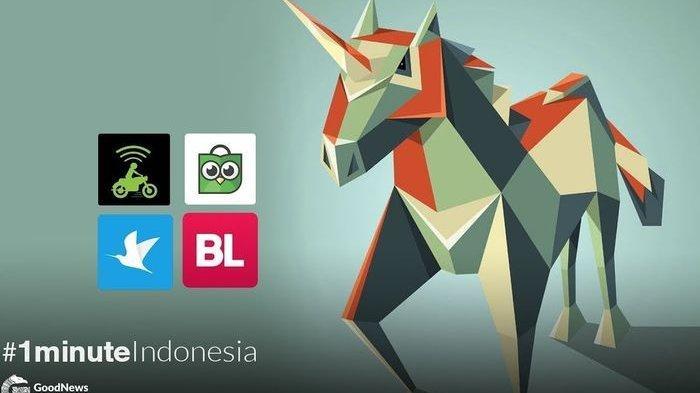 Inilah 4 Unicorn Kebanggaan Indonesia