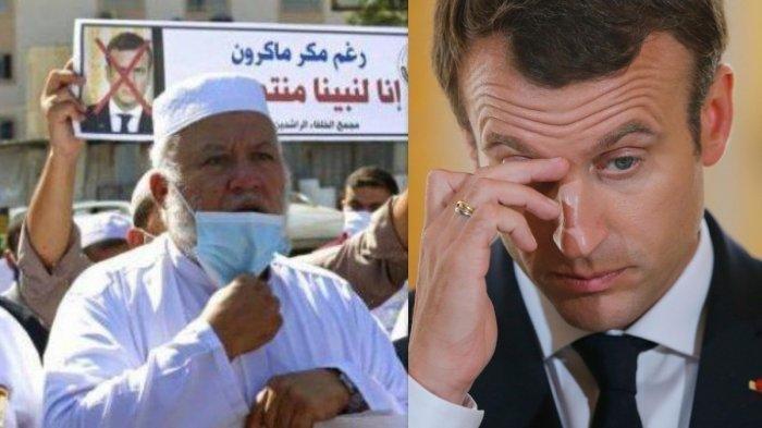 Macron Akhirnya Sadar Sudah Sakiti Umat Muslim, Bebas Berpendapat, tapi Tak Bisa Bedakan Konteks