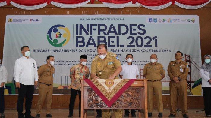 Gubernur Apresiasi Kegiatan Infrades Babel 2021