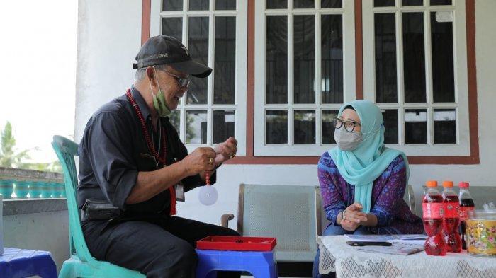Mengenali Batu Satam Khas Pulau Belitung, Melati Erzaldi Kunjungi Galeri Firman