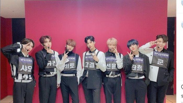 Dua Anggota Grup Vokal UP10TION Positif Covid-19, TerbaruKogyeol