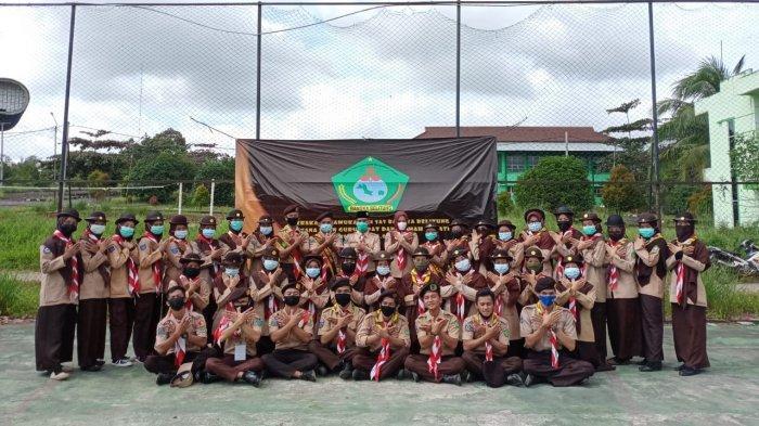Sambut Anggota Baru, UKK Pramuka IAIN SAS Bangka Belitung Adakan Pewara XII