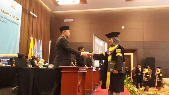 2018, Universitas Terbuka Pangkalpinang Luluskan 478 Mahasiswa