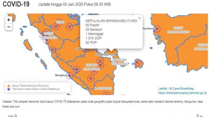 Update Covid 19 Bangka Belitung 3 Juni, Terbaru 9 ABK Dan 2 Santri Terdeteksi Positif
