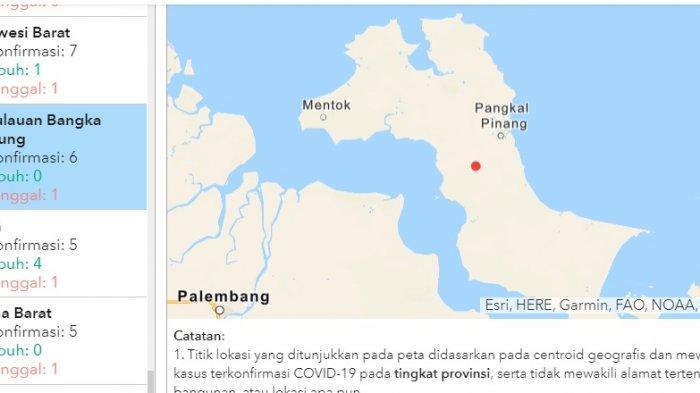 Pasien 211 Dinyatakan Pasien Pertama yang Sembuh Covid-19 di Provinsi Bangka Belitung