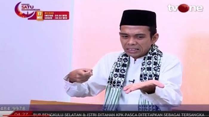 Ternyata ini Alasan Ustadz Abdul Somad Pilih Tampil di TV One Dibanding TV Lain, Bukan Soal Honor