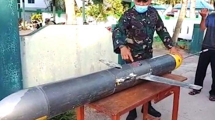 Nelayan Indonesia Temukan Benda Mirip Rudal Kecil Diduga Milik Militer China, Terungkap Fakta Ini