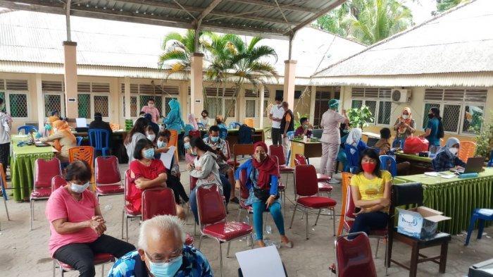 Hari Ini 374 Orang Jalani Vaksinasi Covid-19 di Kabupaten Bangka