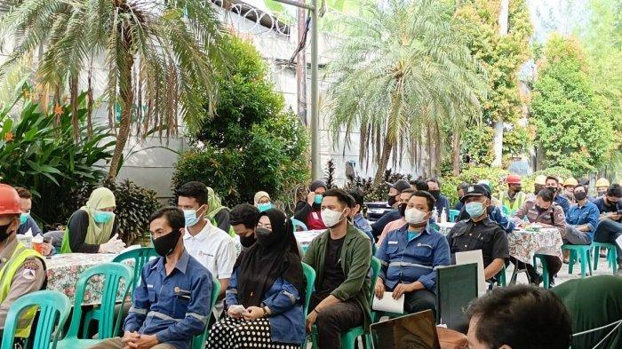 PT Mitra Stania Prima Sukseskan Program Vaksinasi di Kabupaten Bangka