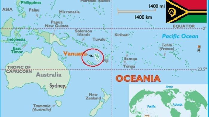 Mengenal Republik Vanuatu, Ternyata Nama Negara Tersebut Artinya Hal Ini
