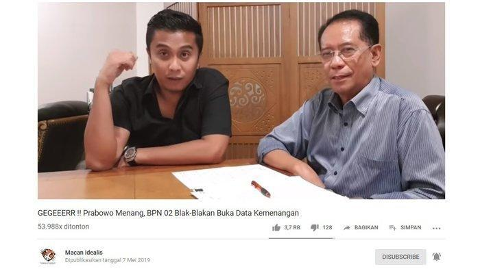 Sosok di Balik Klaim Kemenangan 62 Persen Prabowo-Sandi Terungkap, Sempat Dituding Ada Setan Gundul