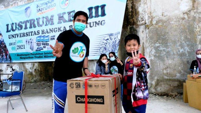 Dies Natalis ke-15 Universitas Bangka Belitung, Adakan 13 Jenis Perlombaan