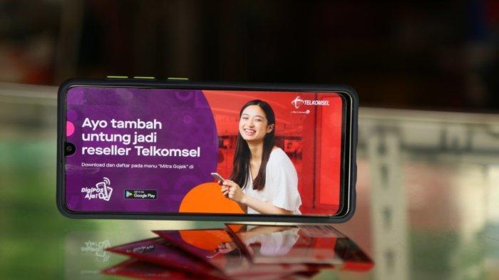 Kolaborasi Telkomsel dan Gojek, Perkuat Sinergi Pemberdayaan Mitra UMKM Lewat DigiPOS Aja!