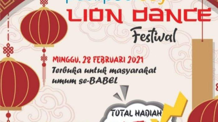 Lion Dance Festival, Arew Sebut Hiburan Bagi Masyarakat Pecinta Barongsai
