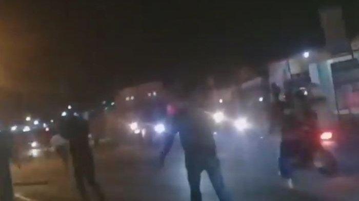 Video Mencekamnya Geng Motor Sweeping 3 Hari Berturut, Warga yang Melintas Jadi Korban