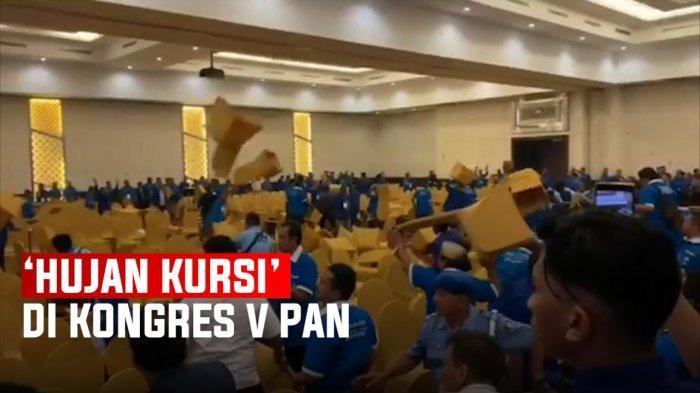 Ketua DPW PAN Ungkap Kronologis Kericuhan Kongres PAN, Patrianusa : Saya di dalam dan Berlari