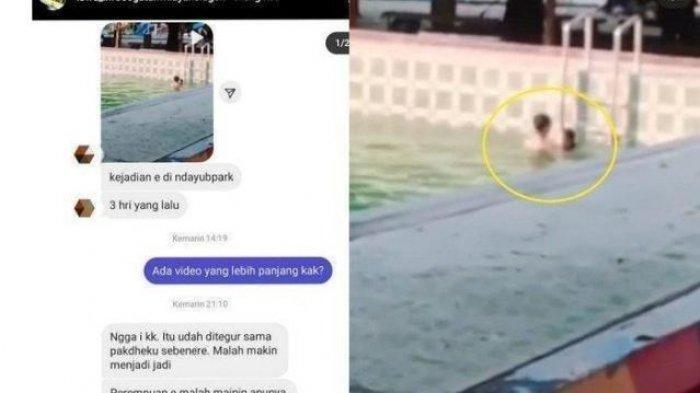 Heboh Video Pasangan Muda-mudi Diduga Mesum di Kolam Renang Sragen, Ini Kata Pengawas Kolam Renang