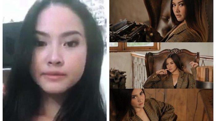 Video syur mirip artis Gabriella Larasati (kiri) yang beredar luas di media sosial. Foto kanan sosok Gabriella Larasati
