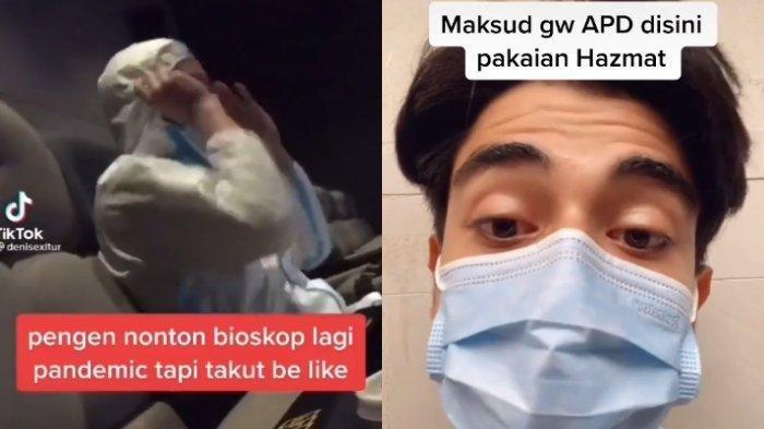 Viral Pasangan Kekasih Nonton di Biokop Pakai Hazmat, Dokter Ini Berikan Kritikan, Jangan Asal Pakai