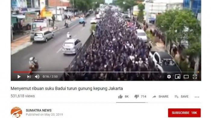 Klarifikasi Polisi dan Kades Soal Ribuan Suku Baduy Turun Gunung Kepung Jakarta