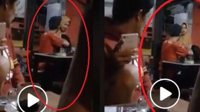 Viral, Demi Lindungi Pelakor di Tempat Umum Suami Pukuli Istri, Simak Videonya!