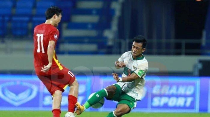 Laga sengit Vietnam vs Indonesia di Uni Emirat Arab