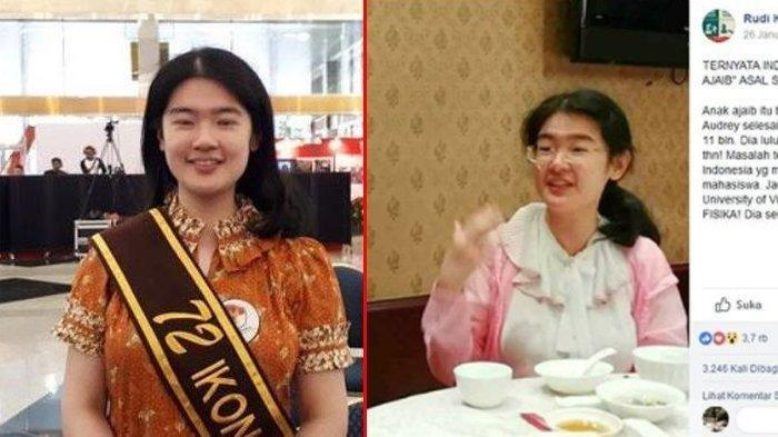 Jokowi Dikabarkan Tawari Gadis Jenius Audrey Yu Bekerja di BPPT, Ini Penjelasan Istana Kepresidenan